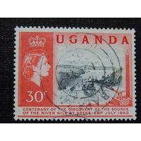 Уганда  1962г. Флора.