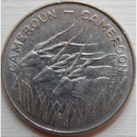 6. Камерун 100 франков 1975 год