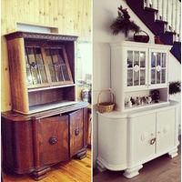 Реставрация антикварной и современной мебели из массива.
