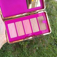 Палетка румян в клатче Tarte Life of the Party clay blush palette &clutch