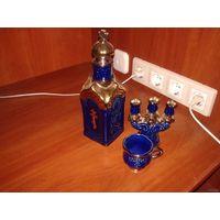 Набор церковного фарфора из 3 предметов.