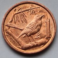 Каймановы острова, 1 цент 2013 г.