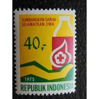 Индонезия 1975 г. Медицина.