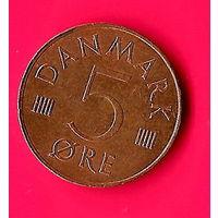 27-15 Дания, 5 эре 1983 г.