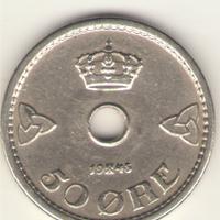 50 эре 1945 г.