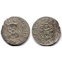 Шеляг 1607, Сигизмунд III Ваза, Рига, Коллекционное состояние