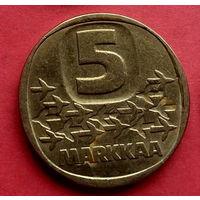 04-22 Финляндия, 5 марок 1983 г.