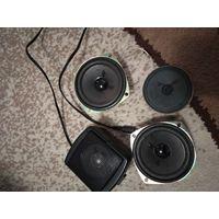 4 акустических динамика