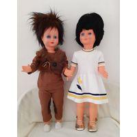 Куклы большие, винтажные. Производство Италия. 75 см.