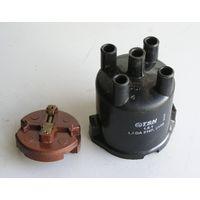 Крышка регулятора - распределителя + бегунок для ВАЗ-2101 -- 2107 производство 1990-х годов
