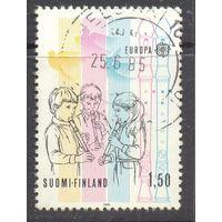 Финляндия Европа-Септ 1985 год музыка дети