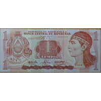 Гондурас 1 лемпира 2004 год UNC