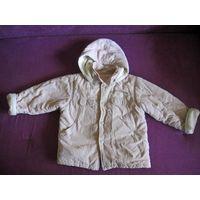 Куртка деми детская унисекс 86-92