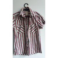 Рубашки с коротким рукавом лот р.46-48