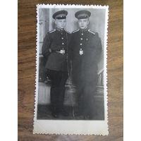 Фото курсантов военного училища.50 е годы.