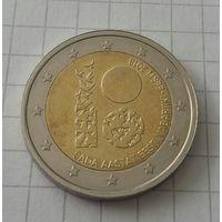 Эстония 2 евро 2018 100 лет республике