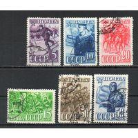 Красная Армия  СССР 1941 год 6 марок