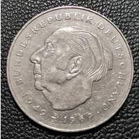 2 марки 1985 J Теодор Хойс Гамбург