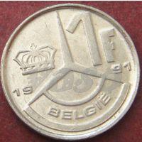 5876:  1 франк 1991 Бельгия KM# 171
