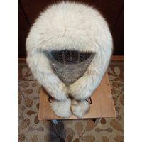 Шапка из меха песца эскимоска
