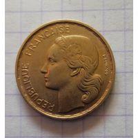 Франция 20 франков 1952г. Гальский петушок.
