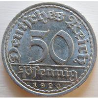 Германия 50 фенингов 1920 год