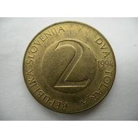 2 толара 1994 Словения
