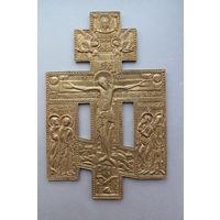 """Крест """"Распятие Христово с предстоящими"""", 19 век. В коллекцию!!!"""