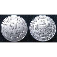 W: Центральная Африка 50 франков 2006, FCFA, центральные африканские штаты (702)