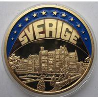Швеция, экю, 1998, пруф