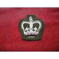 Нашивная кокарда английской полиции