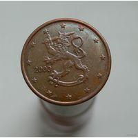 5 евроцентов 2000 Финляндия