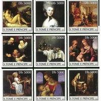 S.Tome E Principe - MNH - 2003 - Искусство   серия 9 марок \3