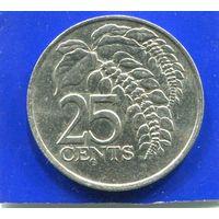 Тринидад и Тобаго 25 центов 1979