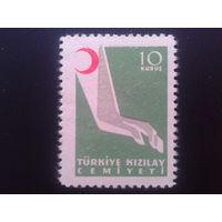 Турция 1954 Красный полумесяц