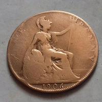 1 пенни, Великобритания 1906 г., Эдуард VII