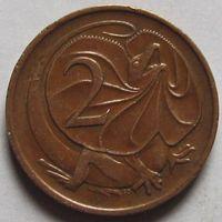 2 цента 1970  Австралия