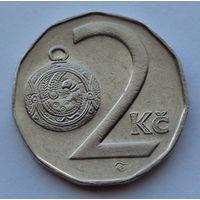 Чехия 2 кроны. 1996