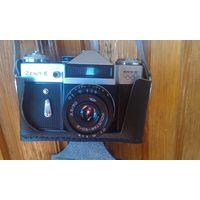 Фотоаппарат Зенит-Е с олимпийской символикой 1980 год