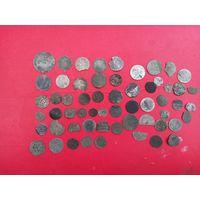 Лот монет вкл с рубля