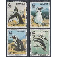 Намибия. 1997. Фауна. Пингвины