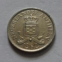 25 центов, Нидерландские Антильские острова, (Антиллы) 1982 г.