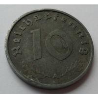 Нацистская Германия (Третий Рейх) 10 рейспфеннигов 1941 А