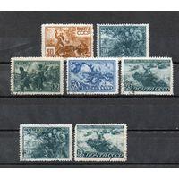 Великая Отечественная война СССР 1943 год серия из 5 марок