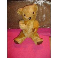 Мягкая игрушка мишка медведь старый Германия