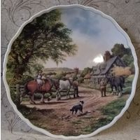 Тарелка коллекционная.Royal Doulton.Британия.