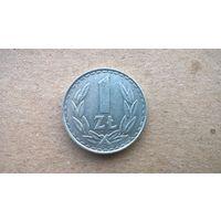 Польша 1 злотый, 1986г.