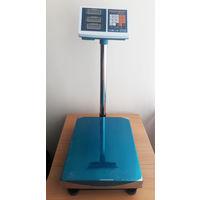 Торговые напольные весы до 800 кг с платформой 60*80 см