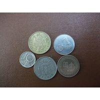 Пять монет/024 с рубля!