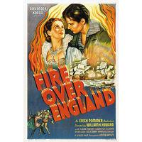 Пламя над островом / Fire Over England (Вивьен Ли,Лоуренс Оливье)  DVD5